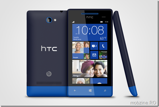 WP 8S by HTC Atlantic Blue 3views
