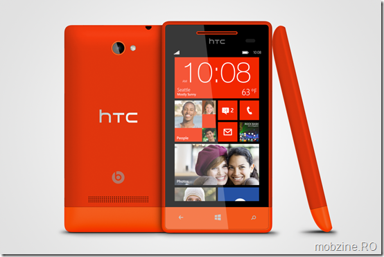 WP 8S by HTC Fiesta Red 3views