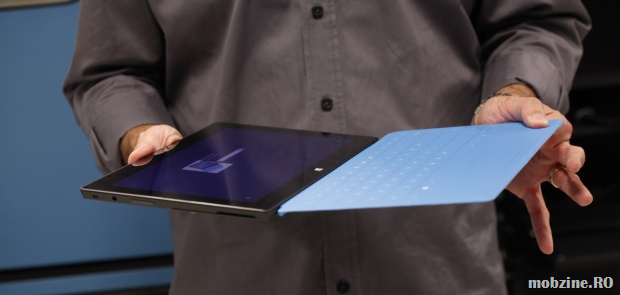 Surface RT cu Touch Cover și Lumia 920 plus 100 GB pe SkyDrive pentru participanții la BUILD