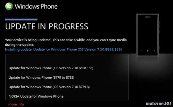 31 ianuarie, disponibilitatea pentru update-ul Windows Phone 7.8