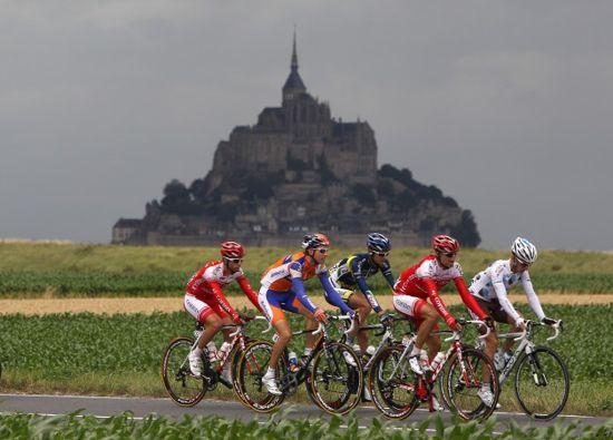 Mont-Saint-Michel-Tour-De-France