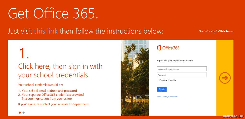 Dupa ce iau Office 365 Education for Students gratuit, elevii (SUA) pot castiga si o tableta Surface Pro 3