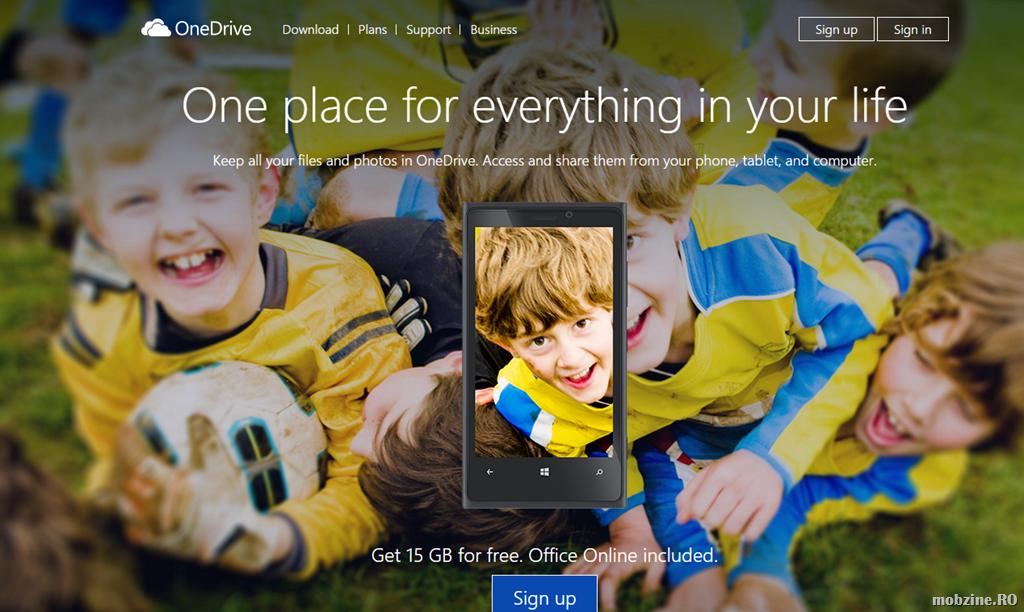 Spatiul de stocare in OneDrive devine nelimitat pentru abonatii Office 365
