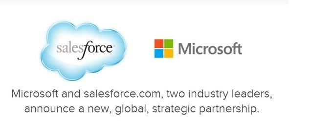 Salesforce introduce integrarea OneDrive si Office