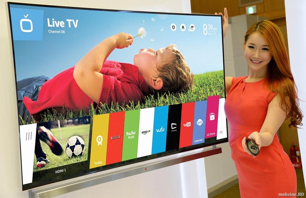 La CES 2015 LG va prezenta noile smart tv-uri cu webOS 2.0