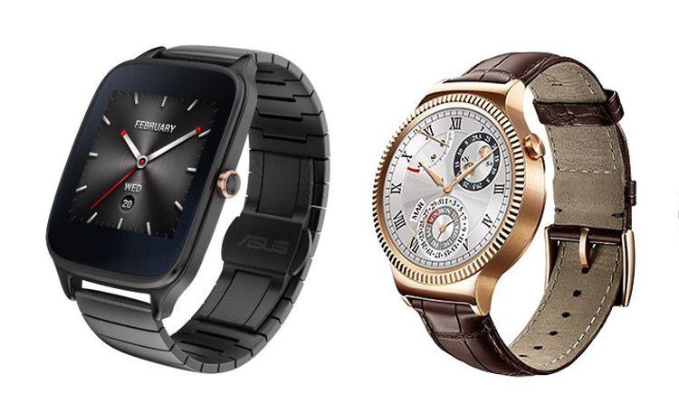 asus zenwatch 2 vs huawei watch