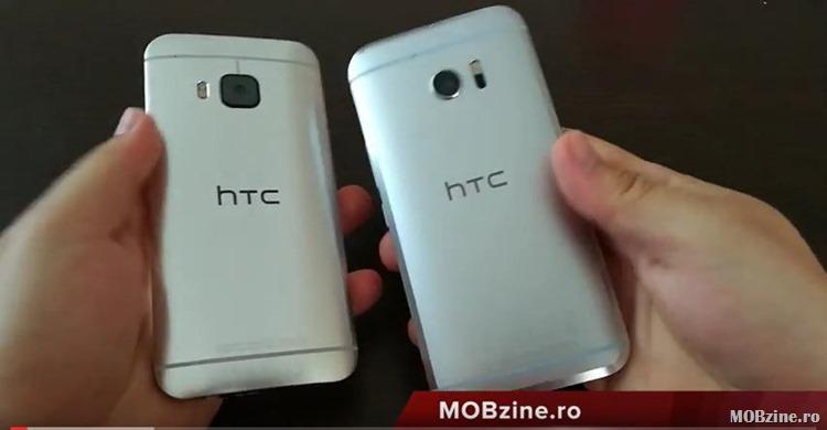 Cum filmeaza Huawei P9: comparatie HTC One M9 vs HTC 10 in design, performanta