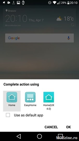 Tutorial Cum Readuci Shell Ul Clasic Android Lg Home 4 0 Pe Lg G5