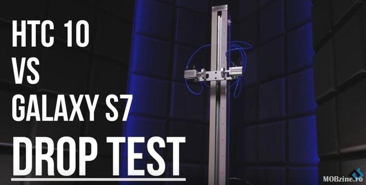 Test Galaxy S7 vs HTC 10: care se sparge primul?