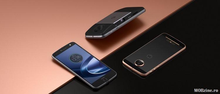 Motorola lanseaza flagship-ul Moto Z cu carcasa modulara MotoMod
