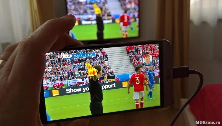 Tutorial: cum vezi pe TV (LG cu webOS) EURO 2016 prin smartphone-ul Android