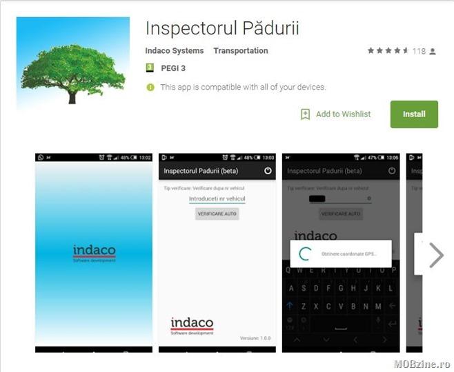 Recomandare civica: Inspectorul Padurii, aplicatia cu care verificati transporturile ilegale de lemn