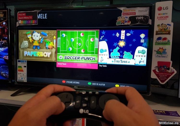 LG Game TV - Soccer Punch
