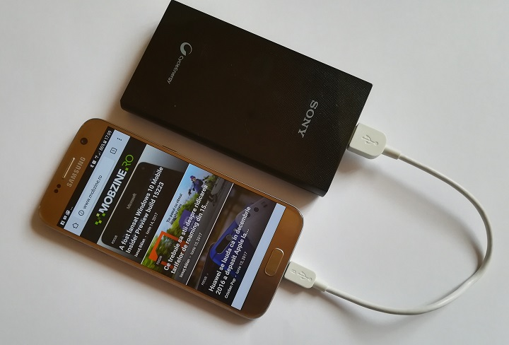 Cateva impresii despre acumulatorii portabili Sony CP-V10A si Sony CP-S15