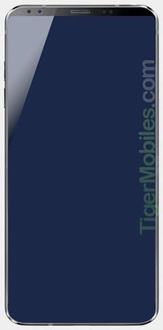 Primele leak-uri de LG G7 ne arata un smartphone cu un display imens, ce acopera aproape toata partea frontala