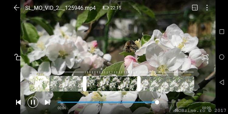 cum filmezi super slow motion pe Huawei P20 Pro
