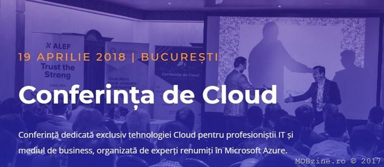 Conferinta de Cloud