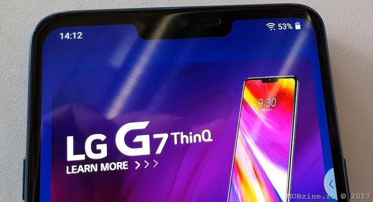 impresii despre LG G7 ThinQ