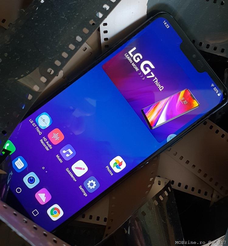 Primele impresii despre LG G7 ThinQ