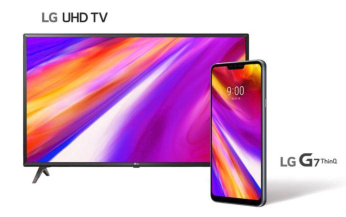 La precomanda unui LG G7 ThinQ se primeste un LG UHD TV de 43 de inci. In Canada.