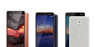 Nokia 5.1, Nokia 3.1 si Nokia 2.1