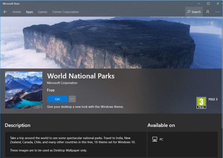 World National Park
