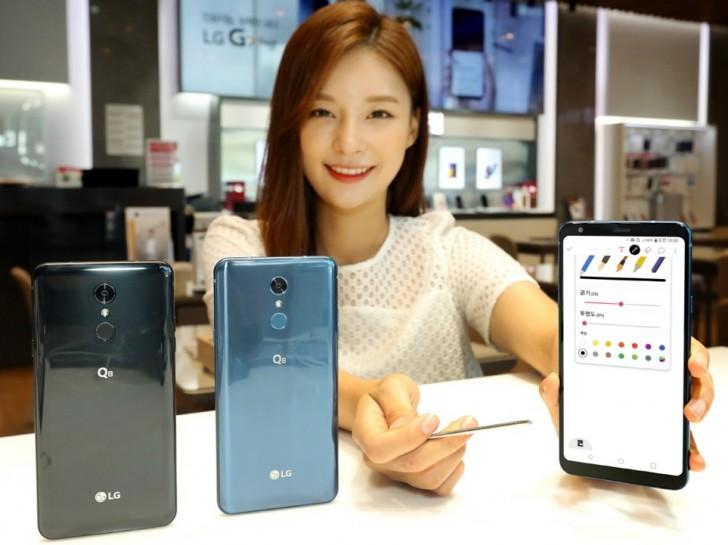 LG Q8 (2018) cu display de 6.2 inci prezentat oficial
