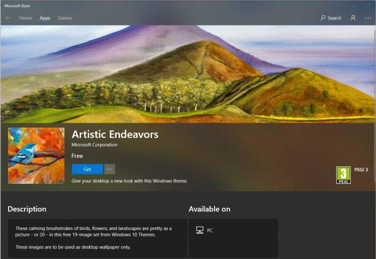 Recomandare wallpaper Windows 10