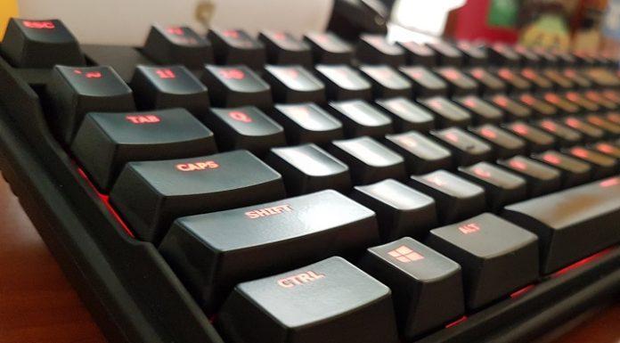 tastatura mecanica Asus Cerberus Mech RGB