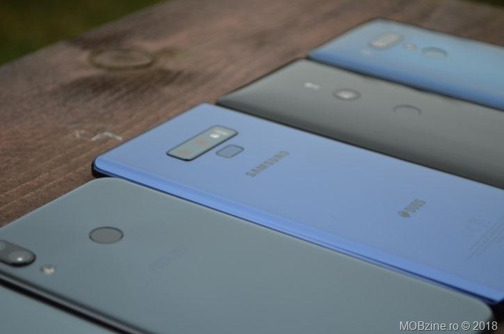 Asus Zenfone 5Z, Samsung Galaxy Note9, Sony Xperia XZ3 si HTC U12+