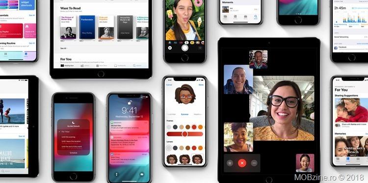 Ce e nou in iOS 12