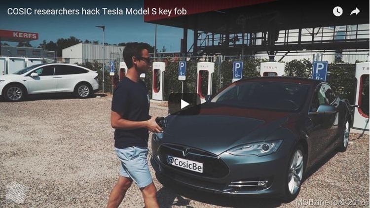 cum se fura un Tesla Model S
