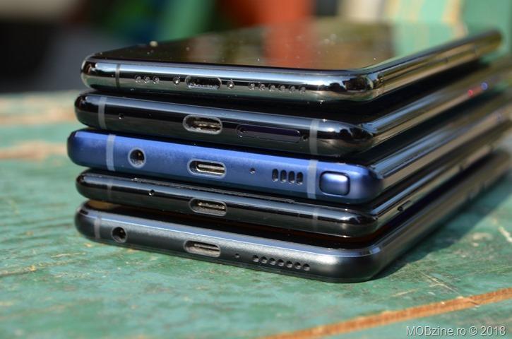 Asus Zenfone 5z vs Sony Xperia XZ3 vs Samsung Galaxy Note9 vs Huawei Mate 20 Pro vs iPhone Xs