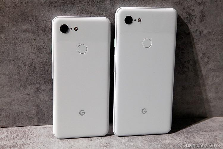 Pixel 3 si Pixel 3 XL