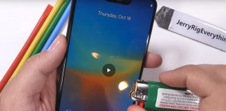test de rezistenta pentru Google Pixel 3 XL