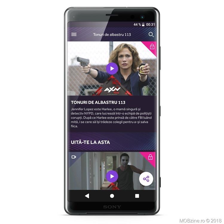 Sony Networks vine pe Xperia XZ3