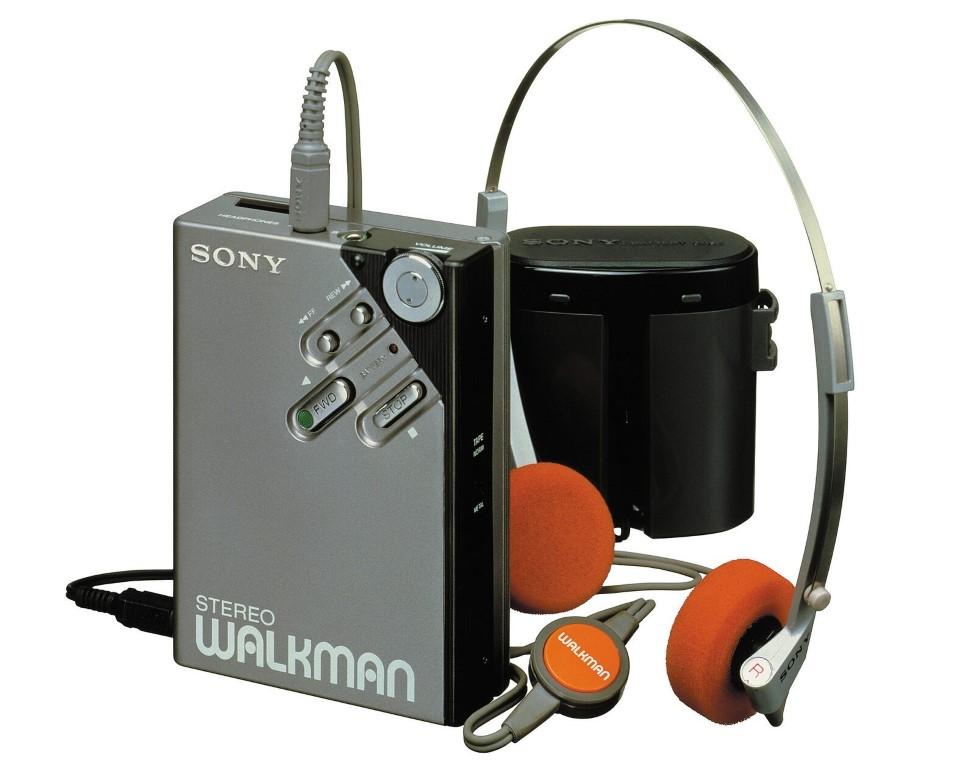Unul dintre primele modele Walkman, realizate de Sony.