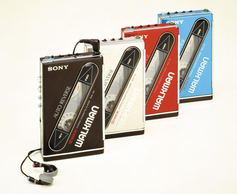 Sony Walkman, casetofonul portabil din 1985.