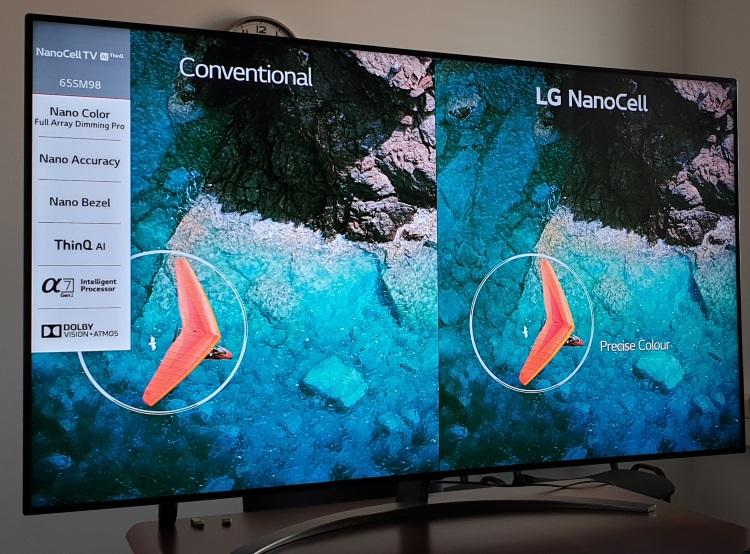 Diferențele de calitate introduse de tehnologia LG NanoCell.