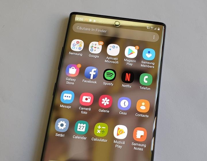 impresii despre Samsung Galaxy Note10+