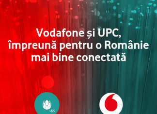 UPC România devine oficial parte a Vodafone România.