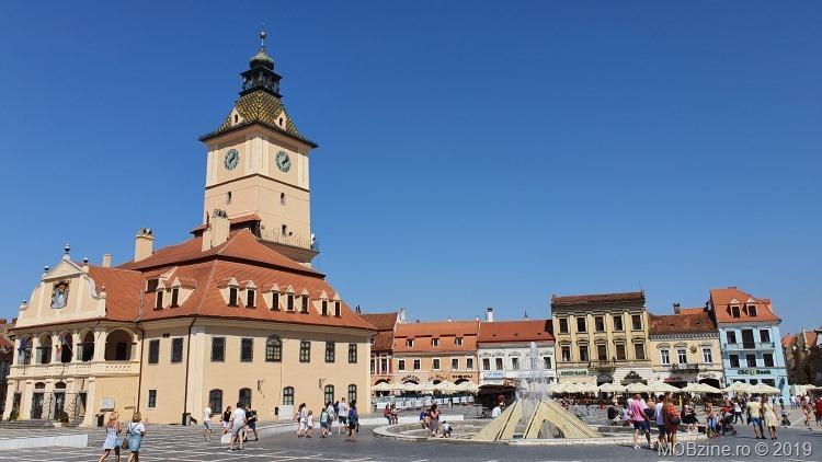 Piața Sfatului din Brașov: poze făcute cu Samsung Galaxy Note 10+