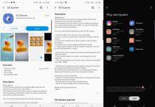 Aplicația 3D Scanner e disponibilă oficial în Galaxy Store și poate fi instalată și folosită pe Samsung Galaxy Note 10 Plus.