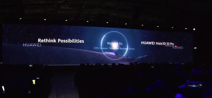 Urmăriți înregistrarea lansării seriei Huawei Mate 30 și a Huawei Watch GT 2.