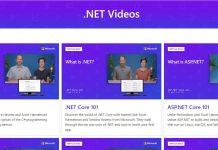 Cei interesați să învețe mai multe depre .NET Core (mai ales că acum s-a lansat .NET Core 3) pot să acceseze o colecție largă de tutoriale video.
