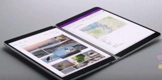 Acesta este Surface Neo, generația modernă a proiectului Courier, dispozitivul cu două display-uri ce funcționează cu Windows 10X.