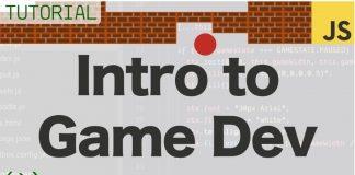 Un mic tutorial video de introducere în dezvoltarea de jocuri folosind JavaScript si HTML folosind ca exemplu un proiect brick breaker.