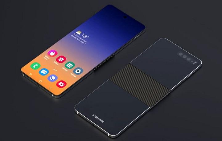 Samsung clamshell