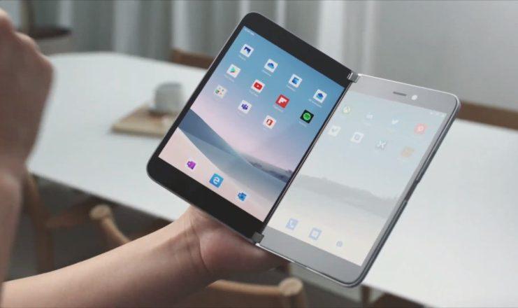 Microsoft promite o cameră foto de calitate pentru Surface Duo.