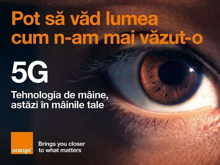 Orange a lansat astăzi serviciul 5G în București, Iași și Cluj-Napoca.